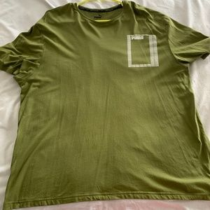Puma Green Box tee XL